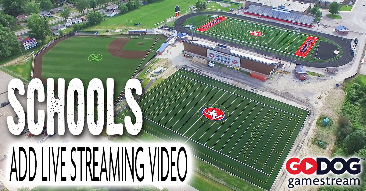 How to Add Live Streaming Video to High School and College Sports